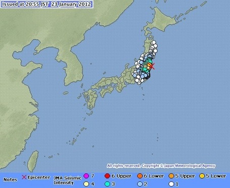 SEISMES A FUKUSHIMA | FUKUSHIMA INFORMATIONS | Scoop.it