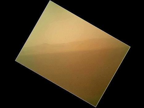 Curiosity's First Color Image of the Martian Landscape | Gavagai | Scoop.it