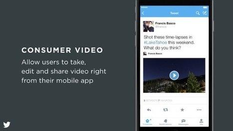 Twitter: quelques détails au sujet de la plateforme vidéo | social networking | Scoop.it