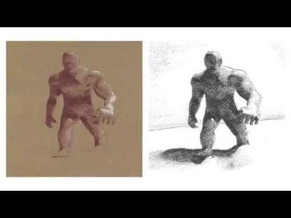Hand-drawn style transfer to 3D models | Research_topic | Scoop.it