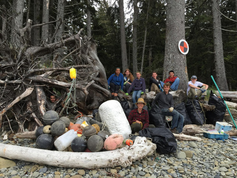 Student Conservation Association Restores and Preserves Olympic National Park's Wilderness Coast | Marine Litter | Scoop.it