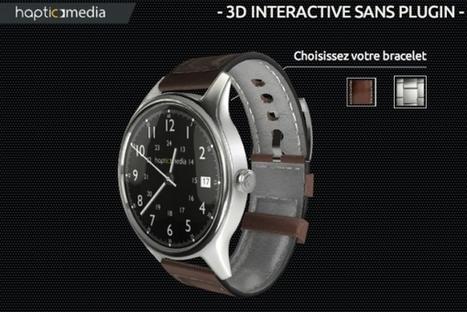 Visuels produits e-commerce : la révolution de la 3D arrive - Journal du Net | 3D | Scoop.it