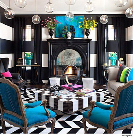Kourtney Kardashian Shows Off Amazing Interior Design Skills With 'Alice In ... - Design & Trend | Great Bathroom and Kitchen Style | Scoop.it