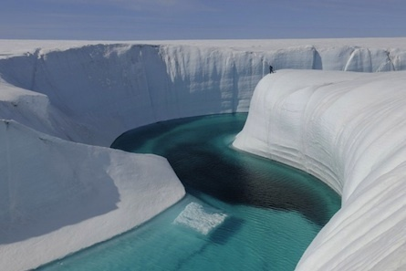 Chasing Ice: Pictures from ground zero of climate change - Maclean's | A Sense of the Ridiculous | Scoop.it