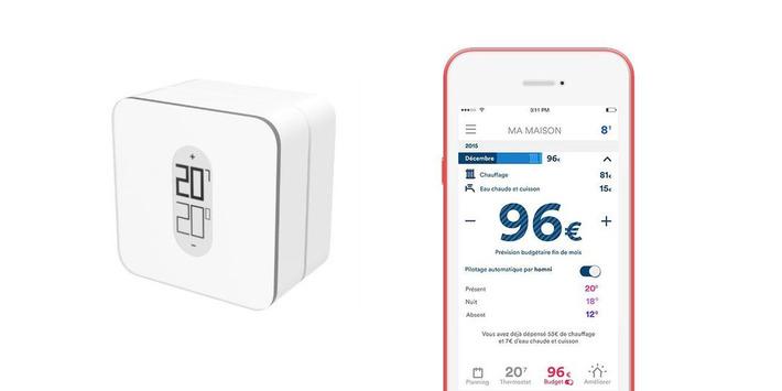Homnistat, le thermostat connecté pour mieux gérer sa facture de chauffage - Web des Objets | SmartHome | Scoop.it