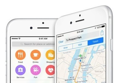 La web de Apple delata una posible API pública para sus mapas | Mobile Technology | Scoop.it