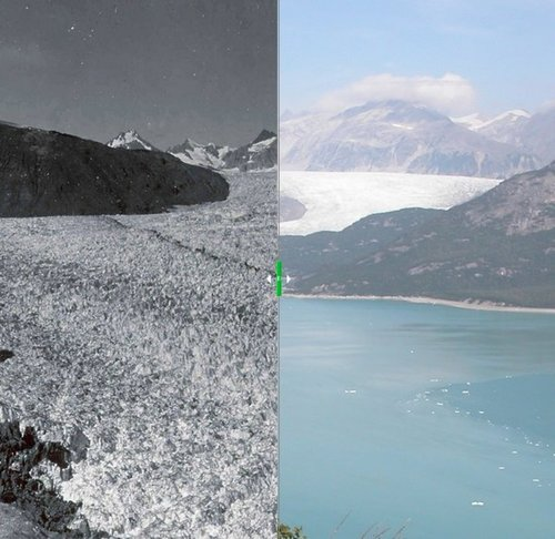This Is What It Looks Like When Glaciers Melt And The West Burns