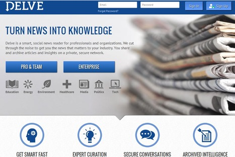 New Social News Reader For Enterprise: Delve | Innovative Social Platforms | Scoop.it