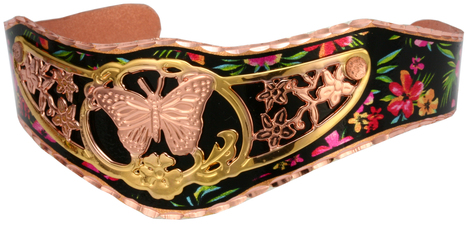 Colorful Butterfly Bracelets | Handmade Jewelry by Copper Reflections | Scoop.it