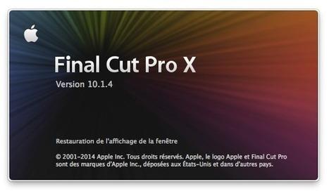 Mise à jour: FCPX 10.1.4 et Formats Pro Vidéo 2.0 ! : YakYakYak.fr | 100% e-Media | Scoop.it