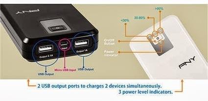 Power up your smartphones and gadgets with PNY Power-P104 « TechConnectPH   MyNewscoop   Scoop.it