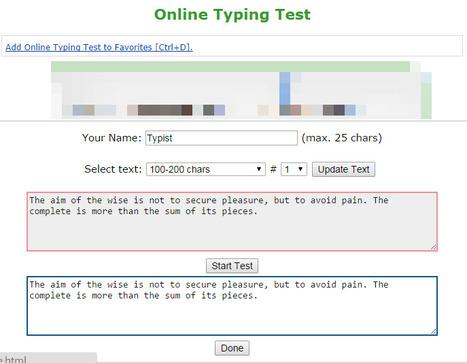 Online Typing Test | 打字練習 | Scoop.it