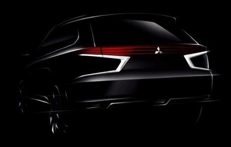 Mitsubishi Outlander PHEV Concept-S teaser images - Autospress.com | otomotive news | Scoop.it