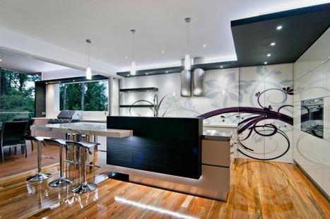 Bushland Retreat Designer Kitchen by Sublime Architectural Interiors | Aussiemandas Auspicious | Scoop.it