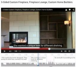Custom Fireplace Lounge - Home Builder Walk Through   SchroederBuildersLLC   Scoop.it