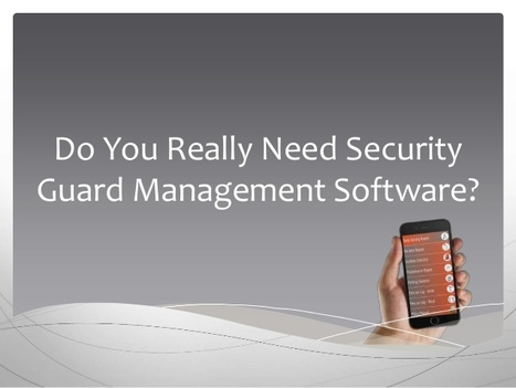 Don't Let This Happen To Your Security Guard Company | Web Based Inventory | Scoop.it