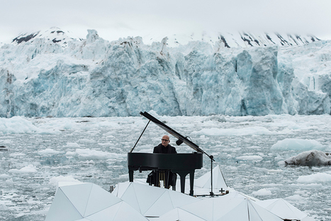 ludovico einaudi orchestrates floating performance in the arctic ocean for greenpeace | What's new in Design + Architecture? | Scoop.it