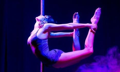 Helena Lehmann: Numéro de vertical dance – The Best, le meilleur artiste | GossipWeek | Scoop.it