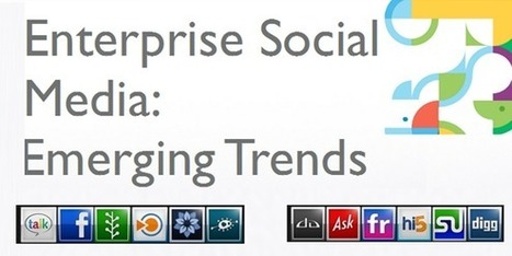 4 Enterprise Social Media Trends You Should Know | Digitale Curator | Scoop.it