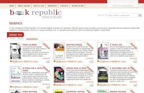 Bookrepublic lancia i bookpacks | Diventa editore di te stesso | Scoop.it