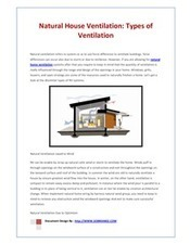 Natural Home Ventilation - Energy Efficiency For Providing Fresh Air to Your House | Natural Ventilation | Scoop.it