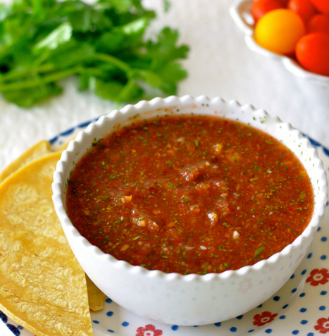 Easy Salsa Recipe For Tomato Season or Year-Round | Vegan Food | Scoop.it