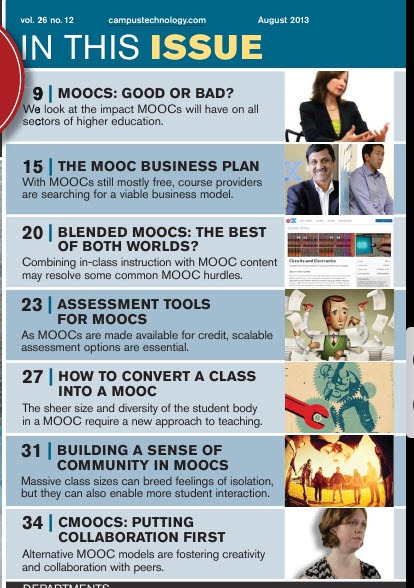 Special MOOC Issue: CAMPUS TECHNOLOGY | MOOC's (Massively Open Online Courses) | Scoop.it