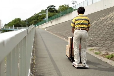 The WalkCar, a Japanese Gadget Designed to Make Walking Obsolete | Strange days indeed... | Scoop.it