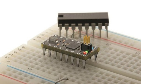 OSHCHIP Breadboard Friendly Bluetooth Smart Board Comes in a Tiny 16-pin DIP Package | Embedded Systems News | Scoop.it