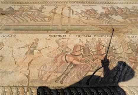 Descubren en Chipre un mosaico romano de carreras de cuadrigas | opus vermiculatum | Scoop.it