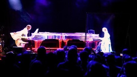 Japanese rockstar Yoshiki engages in piano battle with hologram of himself | GizMag.com | jacques bouniard | Scoop.it