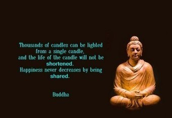 Buddha: Candles | Quote for Thought | Scoop.it