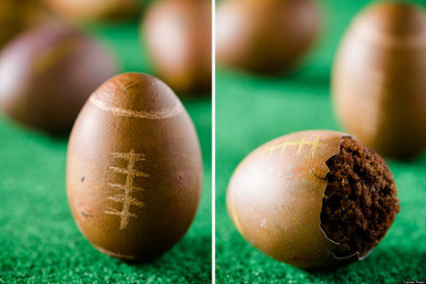 Football-Shaped Cupcakes Baked In Eggs | Eco Living, Marketing, News | Scoop.it
