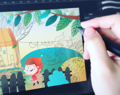 Updating your illustration techniques for the mobile era | Photoshop Tips and Tricks | Scoop.it