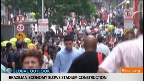 Brazil Economy Slows World Cup Stadium Construction: Video | Economics and social impacts  of the World Cup in different countries | Scoop.it