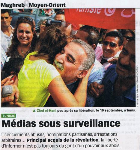 Tunisie: Médias sous surveillance | DocPresseESJ | Scoop.it