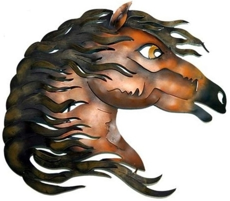 Horse Head Wall Decor | Mexican Furniture & Decor | Scoop.it