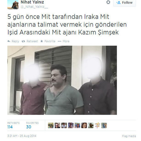 ISIS fighters killed by Kurds were members of Turkish MIT (Intelligence Services) | Unthinking respect for authority is the greatest enemy of truth. | Scoop.it