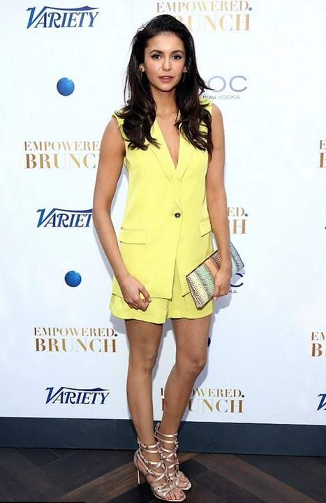 Nina Dobrev in Cesare Paciotti | Le Marche & Fashion | Scoop.it