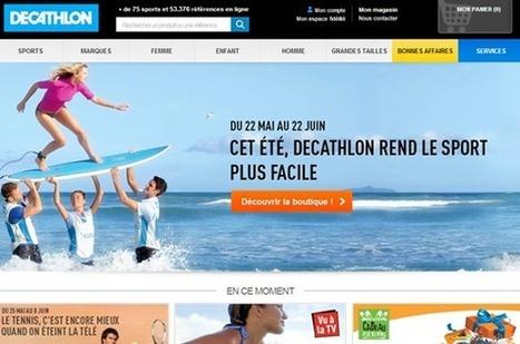 Decathlon.fr, site e-commerce efficace | etude | Scoop.it