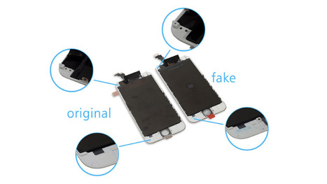 How to distinguish iPhone 6 screen between original and fake?   All about smartphone   Scoop.it
