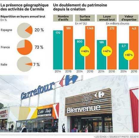 Investissement | Carrefour en piste pour coter sa foncière Carmila en 2017 | Marché français des commerces | French Retail Market | Scoop.it