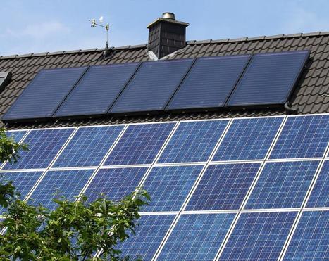 Couverture solaire, eau chaude tombée du ciel - lavenir.net | Chauffage - ECS - Ventilation | Scoop.it