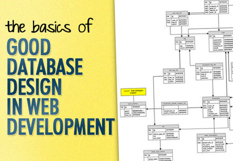 The Basics of Good Database Design in Web Development | Onextrapixel | Time to Learn | Scoop.it