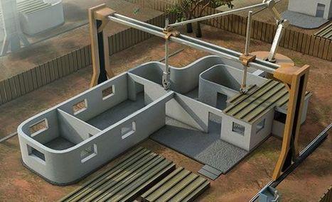 [Innovation] l'imprimante 3D qui peut construire une maison en 24 heures | La vie vue de l'exterieur | Scoop.it