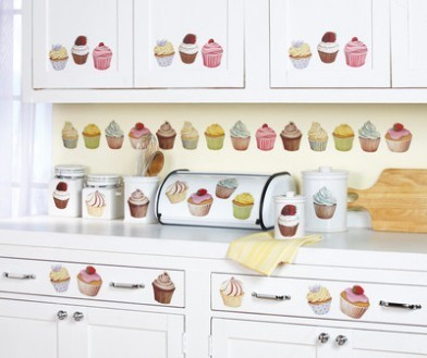 cupcake kitchen decor ideas