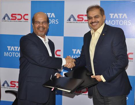 Tata Motors signs MoU with Automotive Skills Development Council | News Attitude | Scoop.it