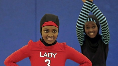 Muslim girls design their own basketball uniforms, including velcro hijabs - FIGUEROAS FRAMEWORK (Cultural Level) | The body | Scoop.it
