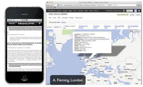 ClickClinica, the app that maps disease outbreaks | Pharma Strategic | Scoop.it