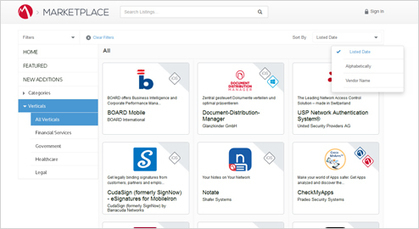 Salesforce Based Customized Marketplace for MobileIron | Digital Marketing | Scoop.it